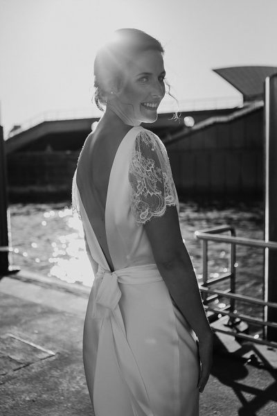 Bride by Sydney Harbour