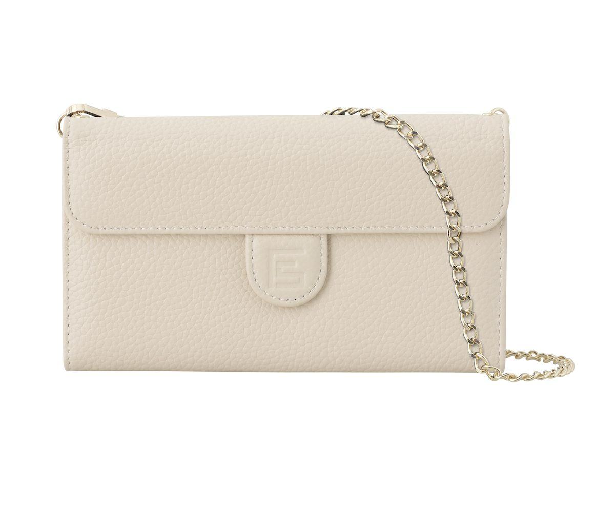 Creme Pebbled Bag front